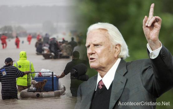 Sermón de Billy Graham acerca de las tragedias y desastres