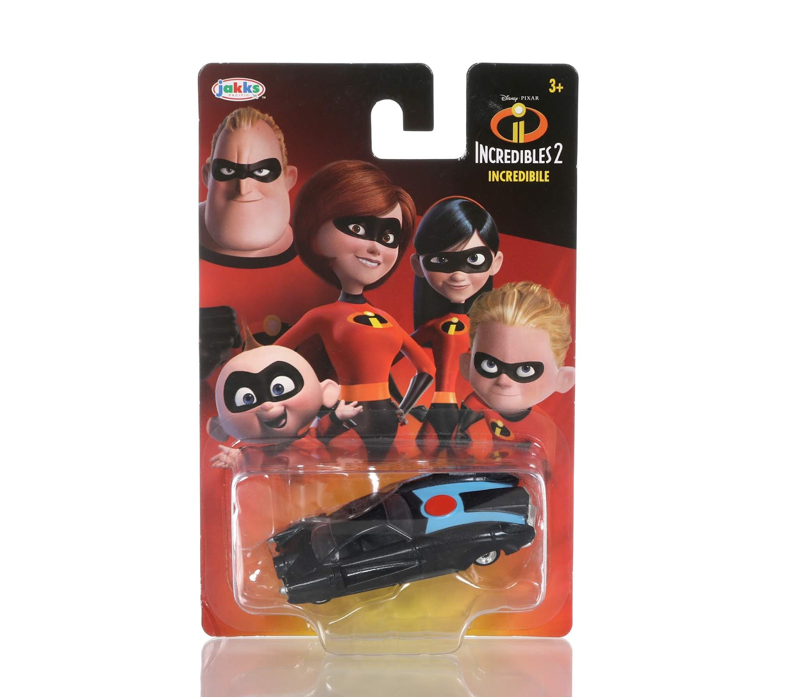 Incredibles 2 Diecast Vehicle Collection by Jakks Pacific