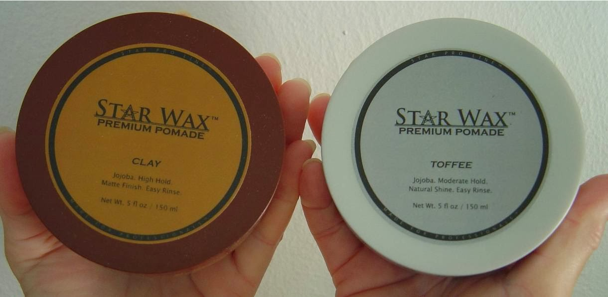Star Pro Line Clay and Toffee Waxes