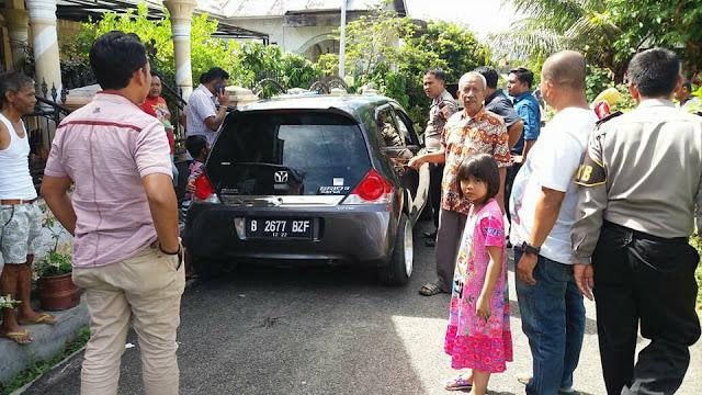 Pecahkan Kaca Mobil, Maling Gondol Uang Sumbangan Masjid di Jalan Baru
