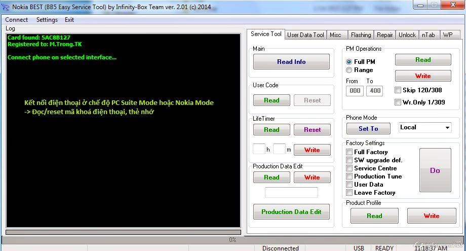 infinity best dongle latest setup v2.24 download