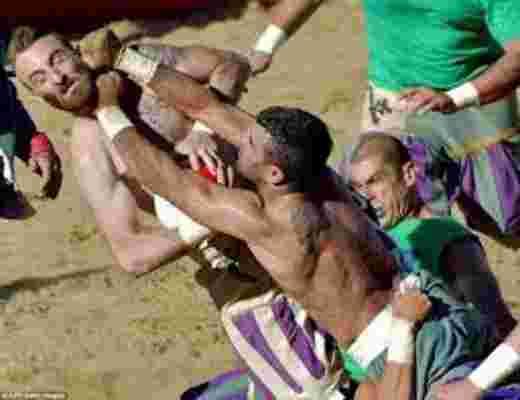 اعنف كرة قدم في التاريخ