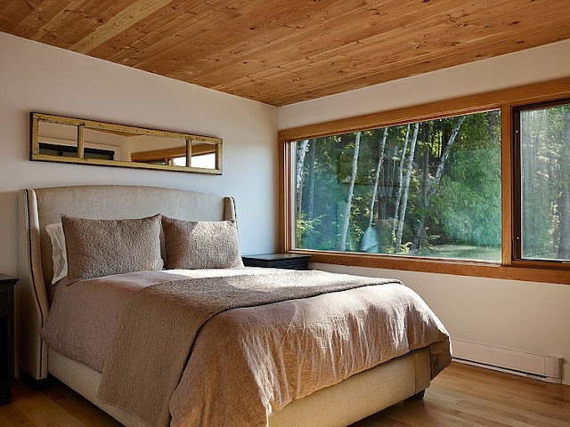 แบบห้องนอนในบ้านไม้