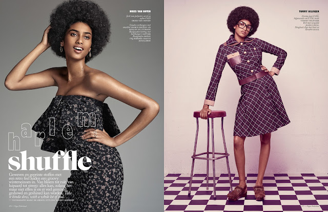 Imaan Hammam for VogueNL by Marc de Groot Spread