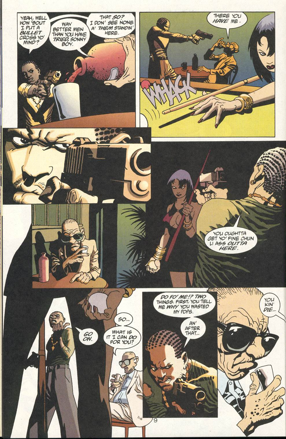 Read online 100 Bullets comic -  Issue #18 - 11