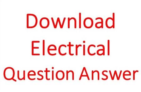 Basic Electrical Mcqs Pdf