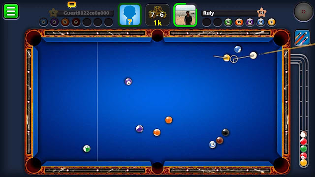 cheat 8 ball pool mod online tanpa root