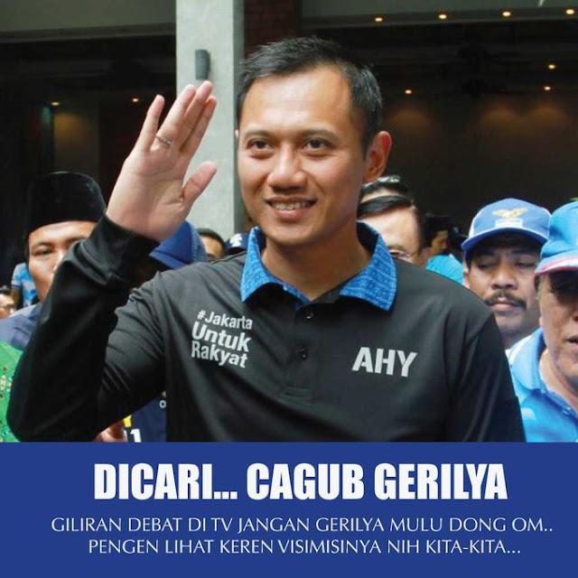 Meme Kocak Agus Yudhoyono