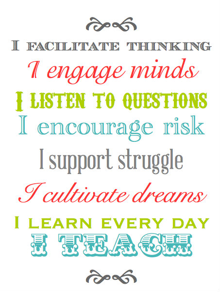 BLISSFUL ROOTS: Printable Teacher Appreciation Quote