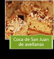 COCA DE SAN JUAN DE AVELLANAS