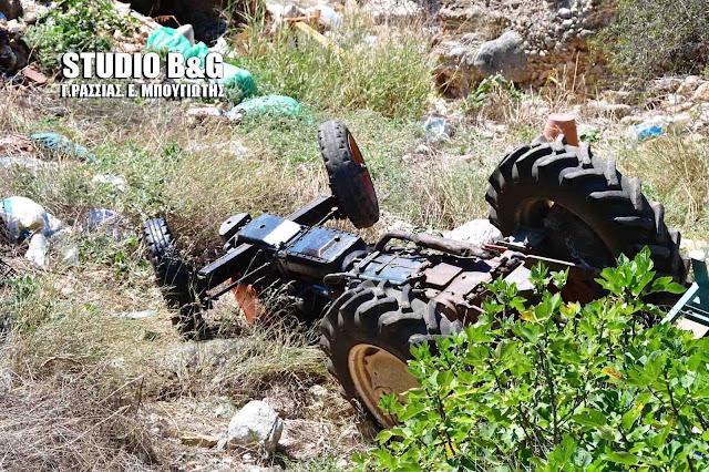 Αργολίδα: Θανάσιμη ανατροπή τρακτέρ στη Δήμαινα
