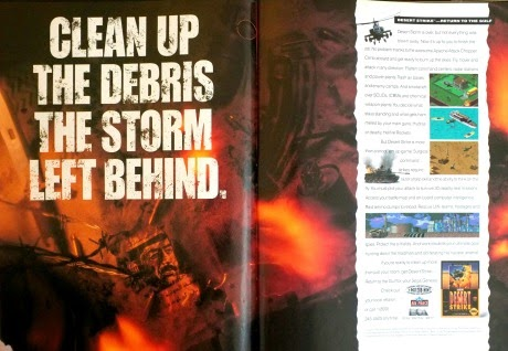 Desert Strike for Genesis advertisement