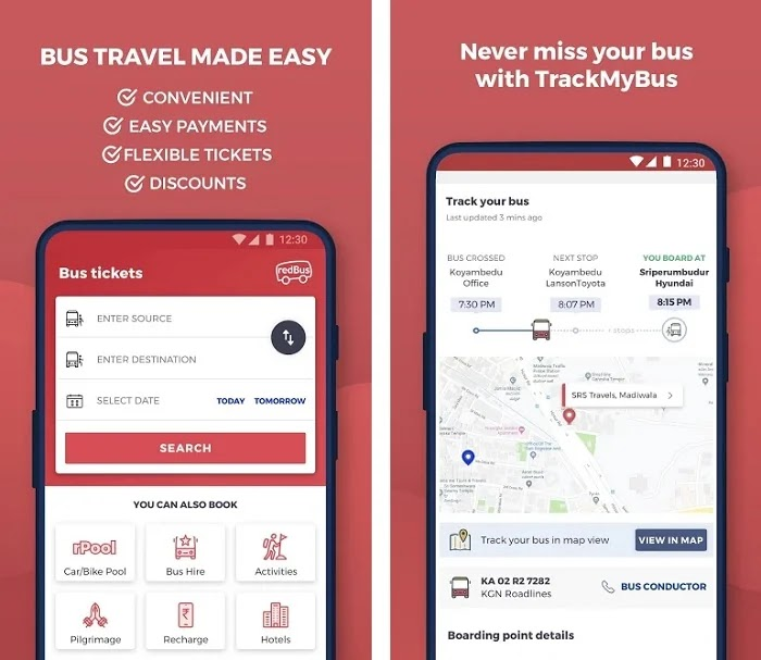 RedBus - Get Rs.100 On Sign-up