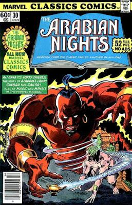 Marvel Classics Comics #30, the Arabian Nights