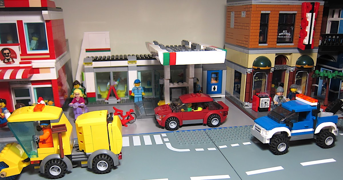 It's Not Lego!: Lepin 02047 City Service Station Bootleg Building ...
