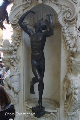 Voyage à Florence, Sculptures, pêcheur, Mercure, Giambologna, Bargello,