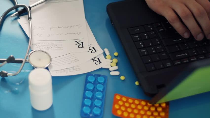 NHS Online Prescription Service