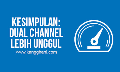 Perbandingan Performa Single Channel VS Dual Channel pada RAM