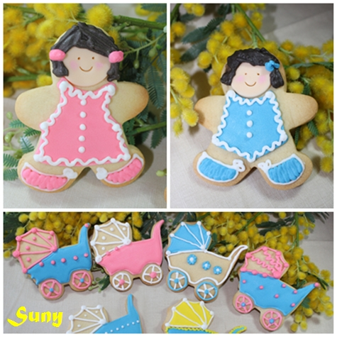 Galletas decoradas - Masa y Glasa
