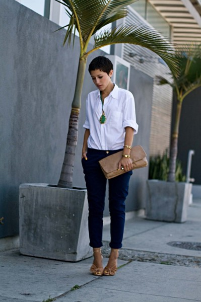Womens Cream Skinny Jeans
