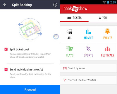 BookMyShow App Updates with Split Tickets and Mini Maps Features