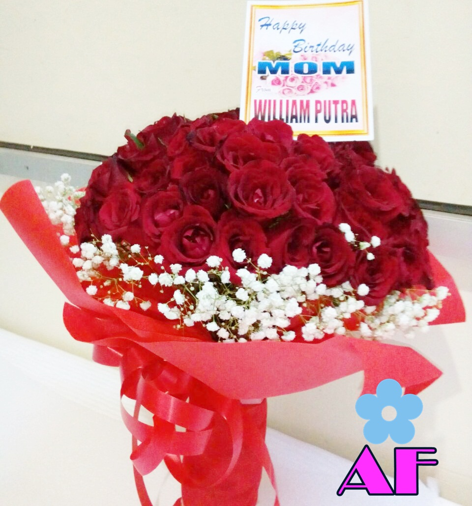 Bunga Mawar Merah Tanda Cinta Sejati Florist Lamongan Toko