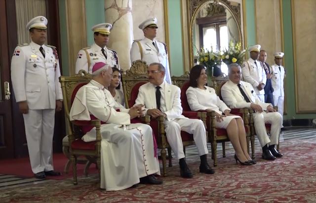 Embajadores presentan cartas credenciales al presidente Danilo Medina