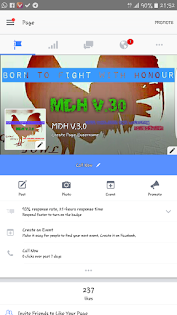 MDH V.3.0 pages kami di Facebook