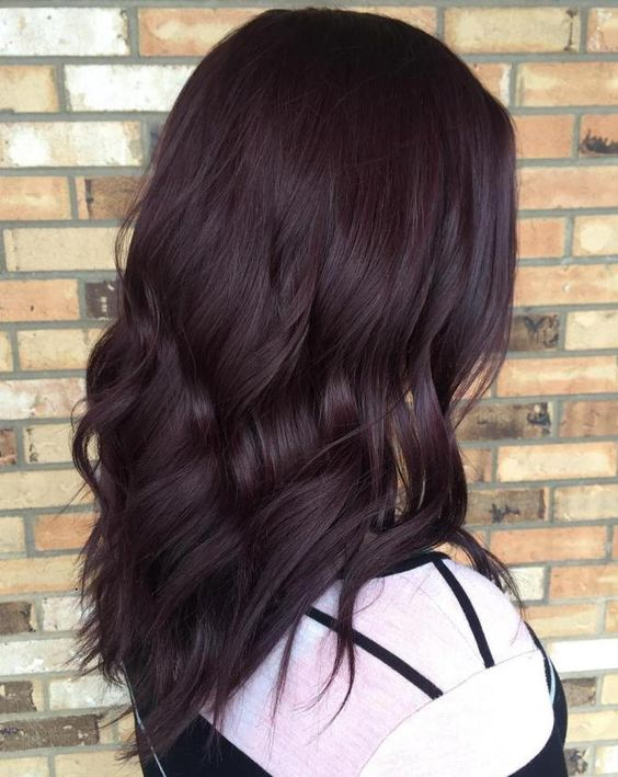 9 hottest dark burgundy hair color ideas for 2017