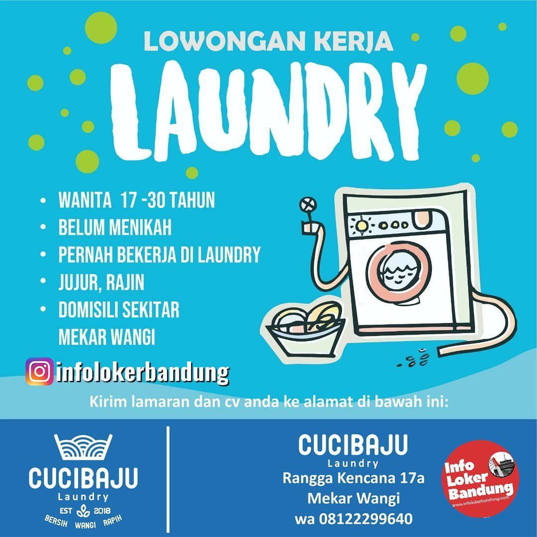 Lowongan Kerja Cuci Baju Laundry Bandung Maret 2019