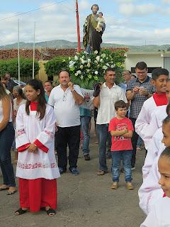 Imagens da Santa Missa em honra a São José em Almino Afonso - 19/03/2018