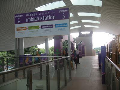 Imbiah Station Sentosa Island
