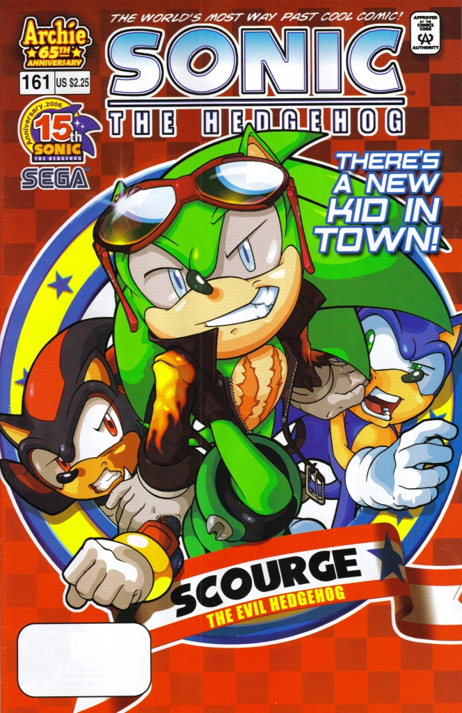 Read online Sonic The Hedgehog comic -  Issue #161 - 1