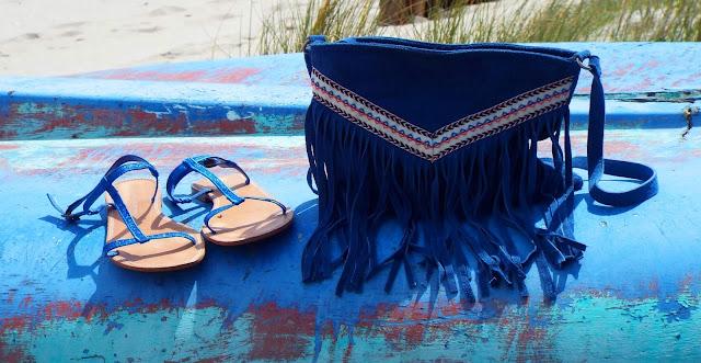 accessoire bleu