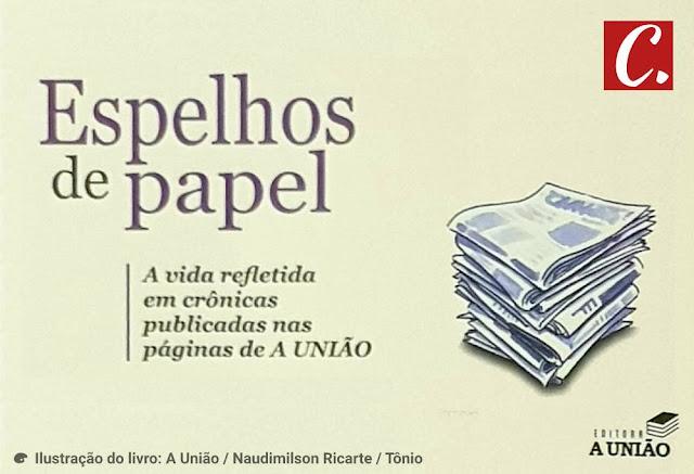 ambiente de leitura carlos romero lancamento livro espelhos de papel live instagram gi ismael jornal a uniao