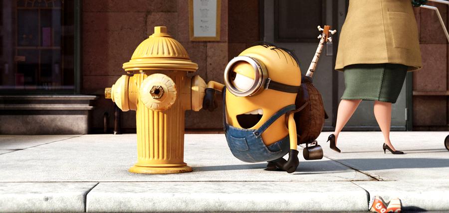 Simpaticul Bob în primul trailer pentru Minions.