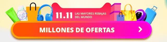ofertas aliexpress 11/11