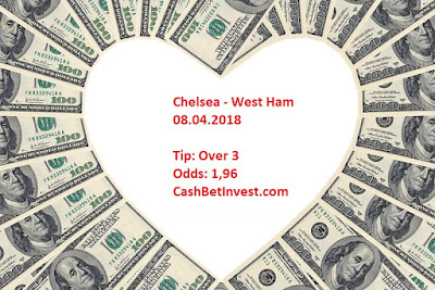Chelsea - West Ham 08.04.2018 - Cash Bet Invest