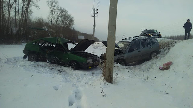 В Башкирии произошло ДТП с двумя погибшими