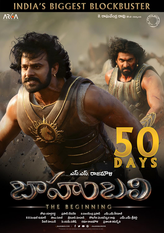 Baahubali movie 50 days wallpapers - Bahubali 2 poster hd ...