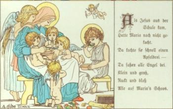 Schooßliedchen. Deutsches Kinderbuch in Wort und Bild. Alte und neue Kinder-Lieder und Reime