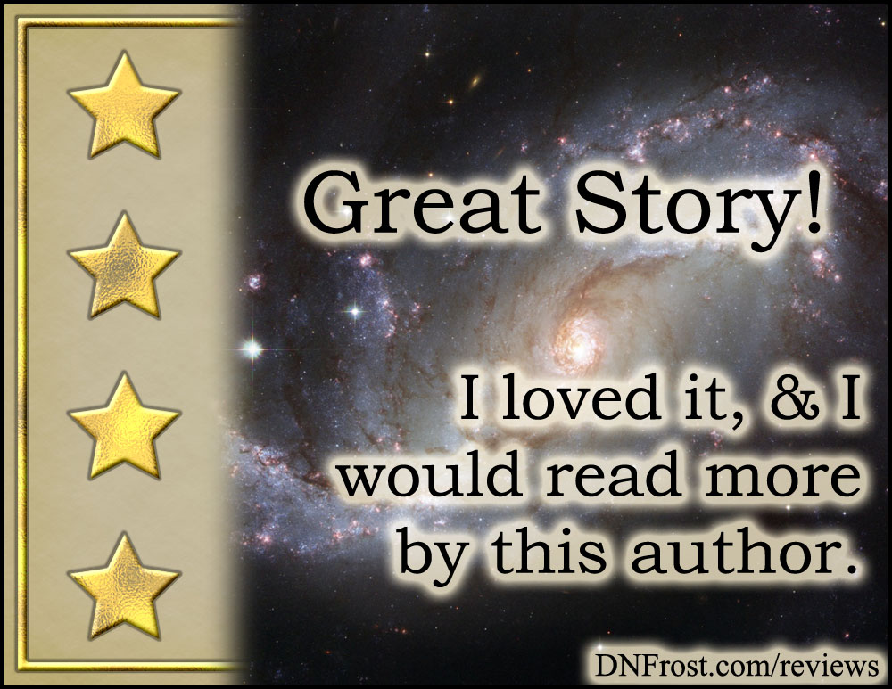 Four Gold Stars, from What are Reviews? An introduction to my take on five star rankings http://www.dnfrost.com/2017/04/what-are-reviews.html An introduction by D.N.Frost @DNFrost13 Part of a series.