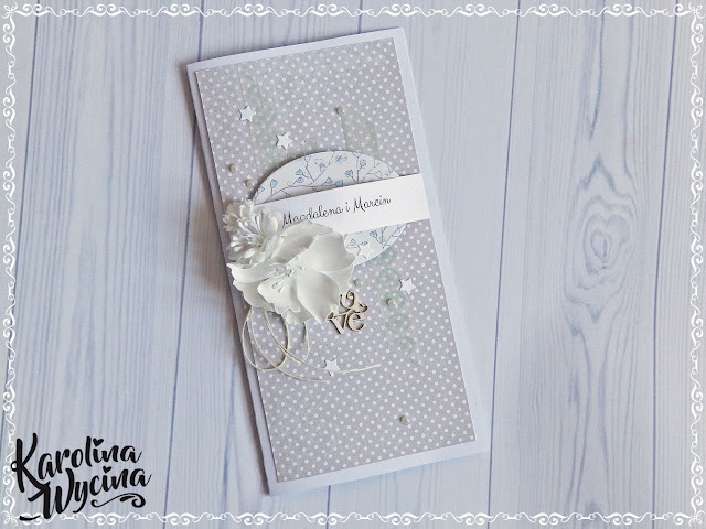 Ślubna w bieli i szarości
