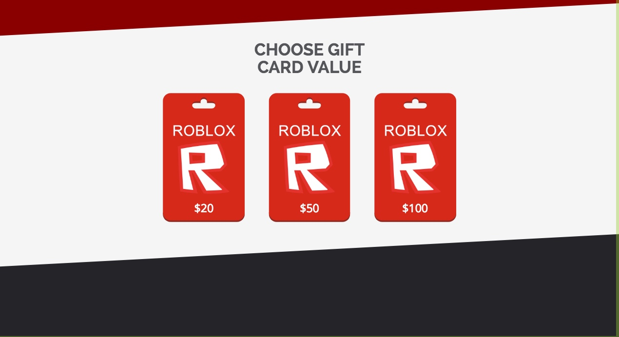Roblox Gift Card Code