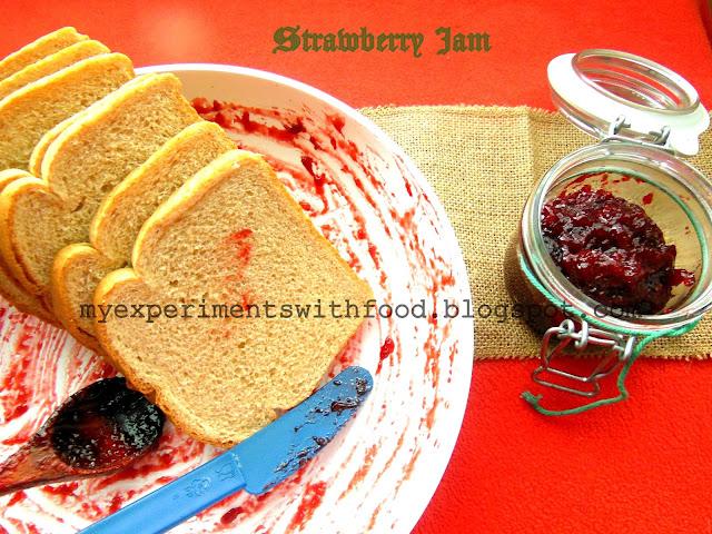 Freshly made Strawberry Jam
