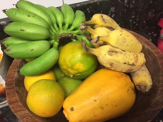 Frutas maduras mais rápido