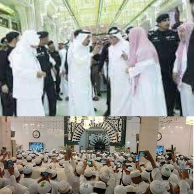 Allahu Akbar! Habib Rizieq Syihab dikawal oleh Polisi ...
