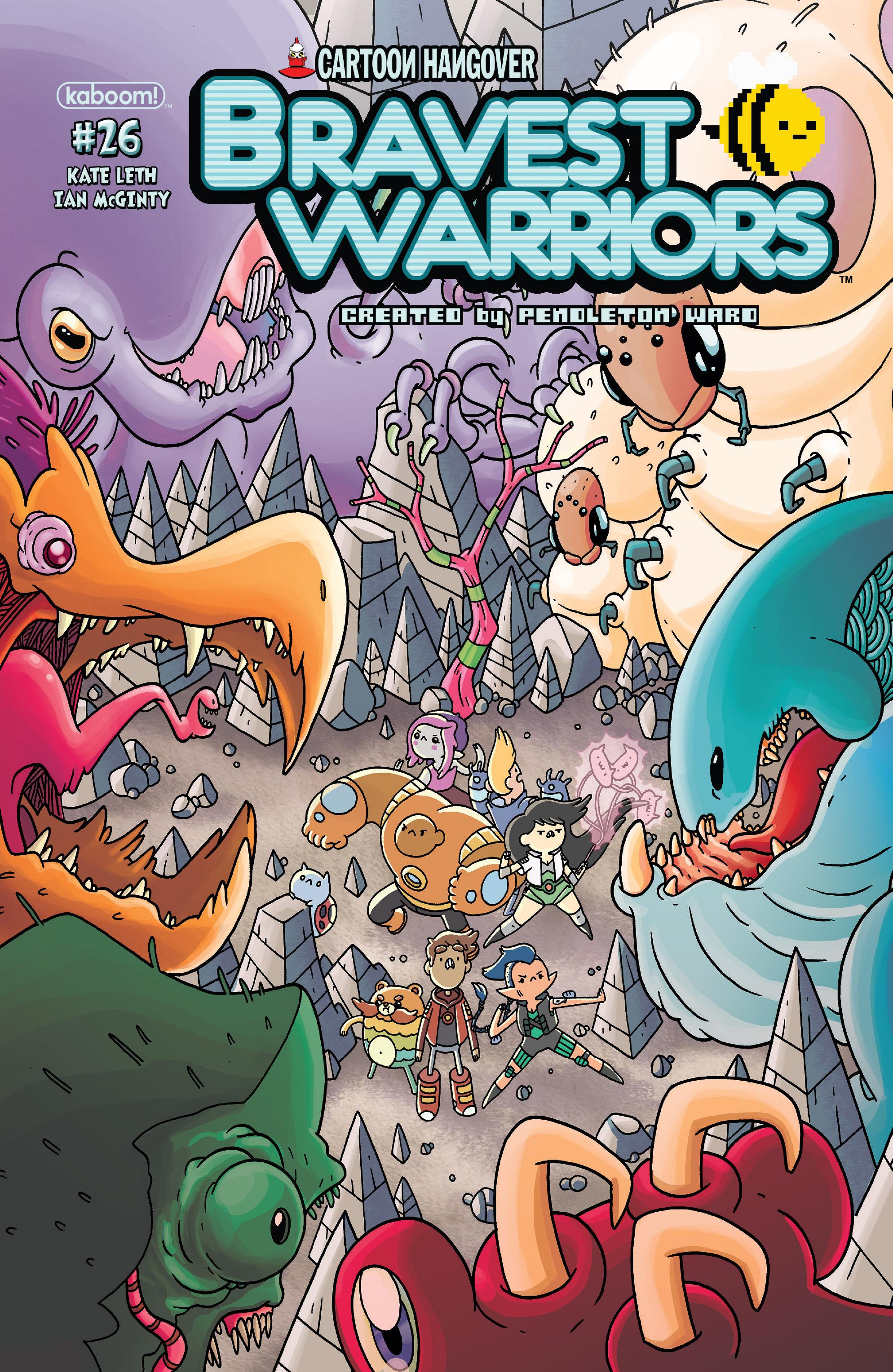 Bravest Warriors 26 Page 1
