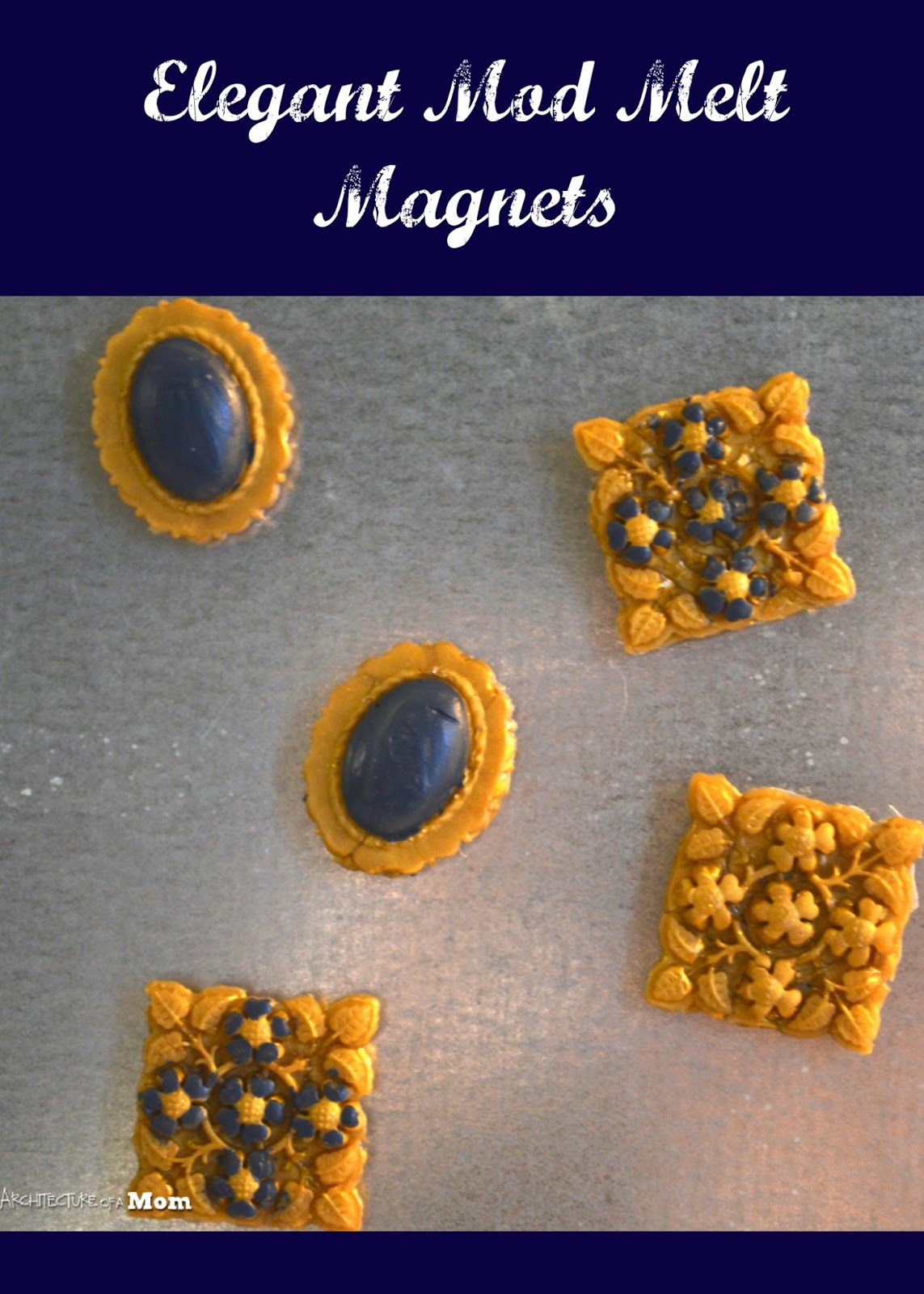 Architecture Of A Mom Easy Mod Melt Magnets