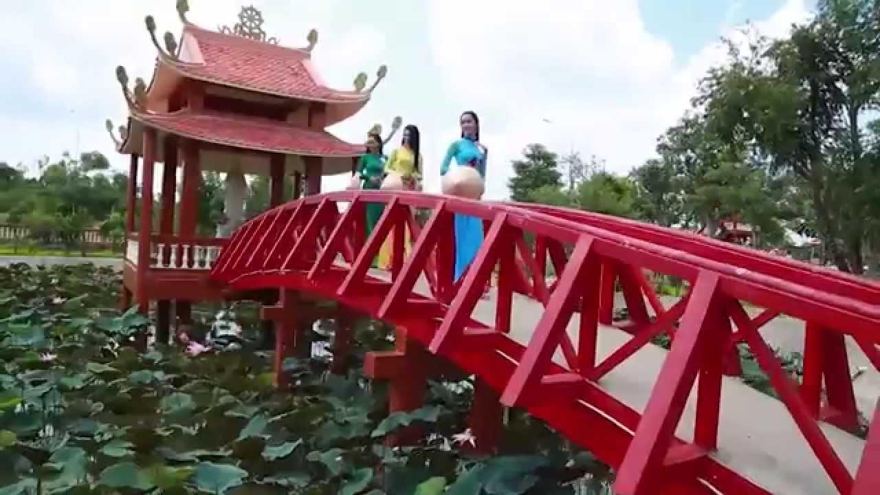 Cảnh đẹp thiền Viện trúc Lâm Phương Nam